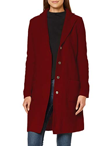 Mavi Damen Long Sleeve Cardigan Jacke, Rio red, L