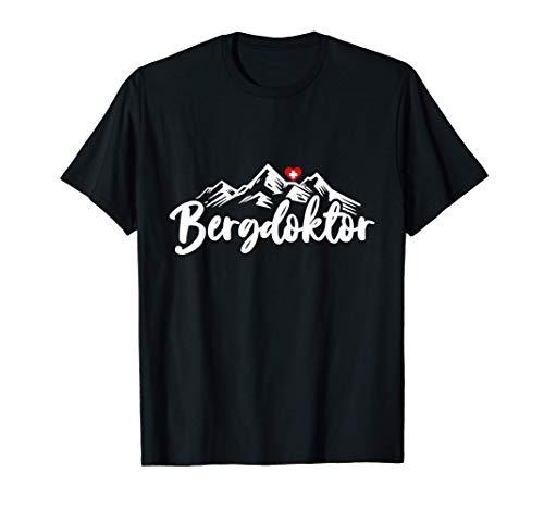 Bergdoktor Berge Alpen Apres Ski Wander Erste Hilfe Geschenk T-Shirt