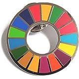SDGs ピンバッジ 国連 バッチ バッジ エスディージーズ 説明書