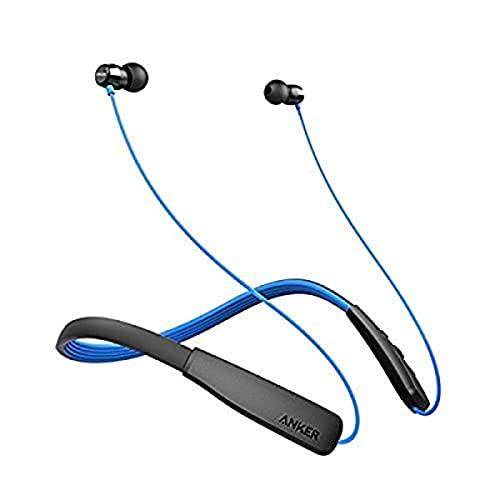 Anker SoundBuds Life Bluetooth-Kopfhörer und Mikrofon, binaural, Mineral, Schwarz, Blau, kabellos, Kopfhörer und Mikrofone (kabellos, Mineral, Binaural, Ohr, 20-20.000 Hz, Schwarz, Blau)