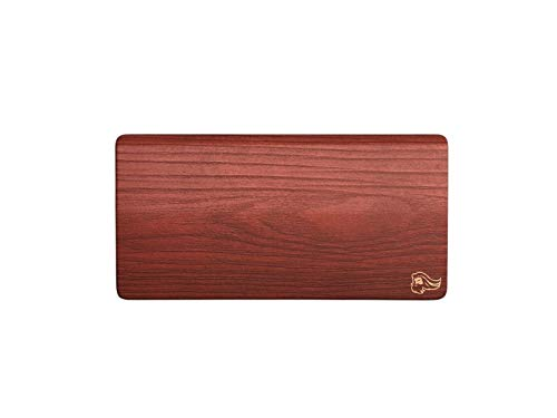 Glorious Gaming Wooden Mouse Wrist Rest - Brown/Golden Oak - for Gaming Mice, Wood Ergonomic Wrist Rest | 8x4 inches/19mm Thick (GV-M-Brown)