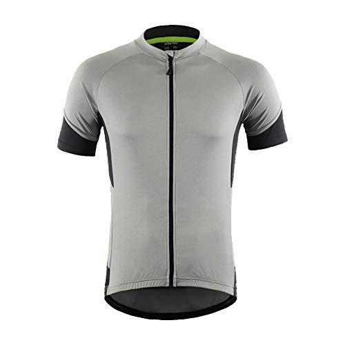 LY4U Uomini Maglia da Ciclismo, Magliette da Ciclismo a Maniche Corte Magliette Leggere da Mountain Bike Traspiranti ad Asciugatura Rapida Magliette da Mountain Bike a Mezza Manica