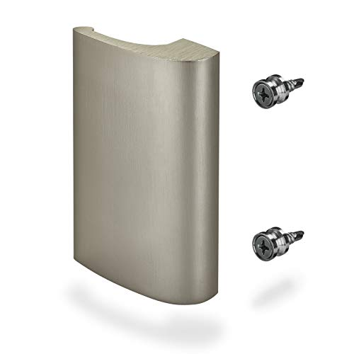 Balkontürgriff SEJA Edelstahloptik 82 x 52 x 20 mm Aluminium Terrassentürgriff von SO-TECH®