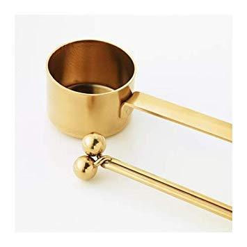 IKEA Tempererad Gold gemahlener Kaffee-Messlöffel mit Taschen-Clip Set