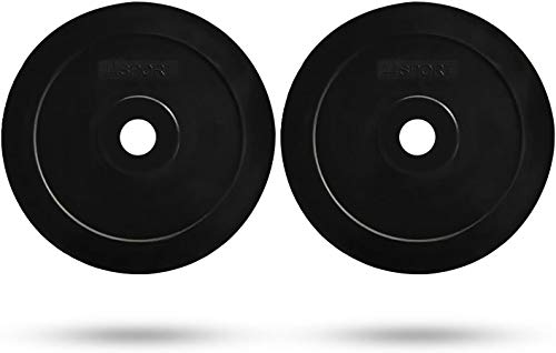 "New 25lb CAP Olympic Barbell 2/"" Solid Rubber Bumper Plate Same Day Shipping"