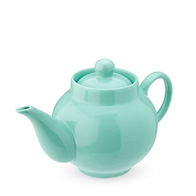 Pinky Up Regan Green Ceramic Teapot & Infuser Tea Set