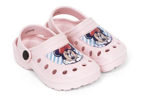 Zuecos Minnie Mouse para Playa o Piscina - Zuecos Disney para niñas (32)