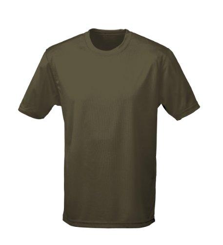 T shirt AWDis à manches courtes cool pour homme - Vert - XXL