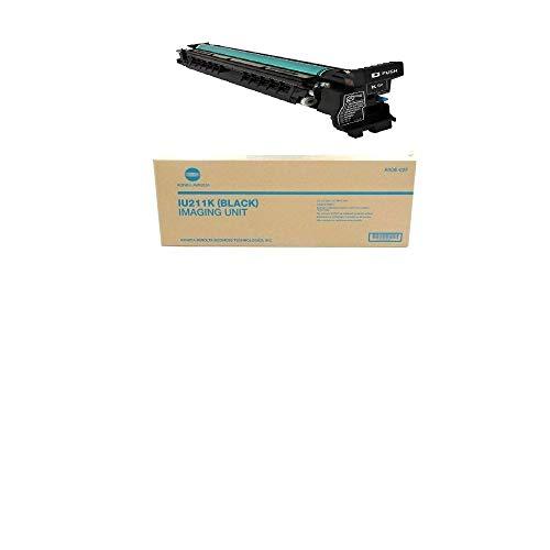 Konica Minolta Bizhub Toner Drum IU 211K für C203/C253 Unit, A0DE02F, schwarz