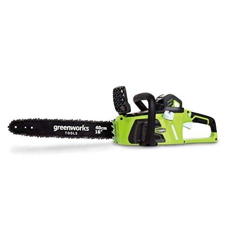 Greenworks 20077 Motosega a batteria 40cm 40V al Litio (senza batteria e caricabatterie)