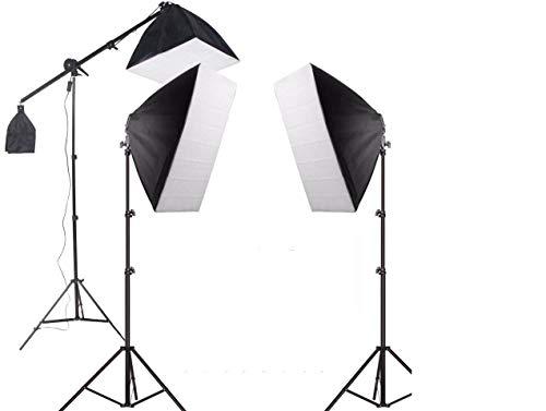 Kit de Iluminação SoftBox 50x70 - PK-SB03 495w 220v