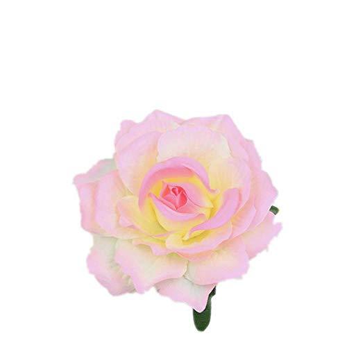 LLine Fleur Cheveux Accessoires pour Les Femmes Mariée Plage Rose Floral Cheveux Pinces DIY Mariée Coiffure Broche De Mariage Épingle À Cheveux, 15
