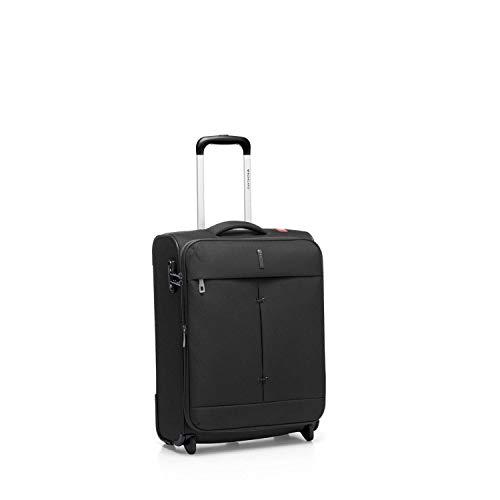 Roncato Trolley Cabine 55 Cm Souple Ironik - Bagages à Main cm. 55 x 40 x 20/23 Capacité 42-48 L, Légère, Serrure TSA, Approuvé par Ryanair Easyjet Lufthansa, Garantie 2 Ans