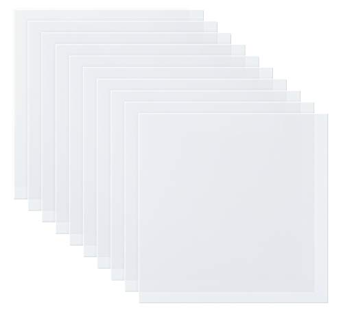 ilauke 10 Pieces 7.5mil Mylar Stencil Sheets, Reusable Blank Stencil Sheets,...