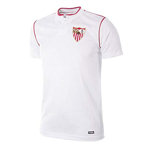 copa FC Sevilla Retro Trikot 1992/93 weiß, XXL