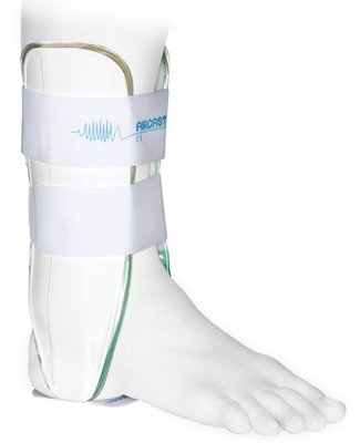 Sprunggelenkschiene AIRCAST AIR-STIRRUP, large, größer als 162 cm, links
