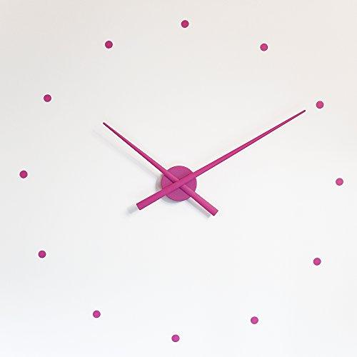 NOMON WANDUHR OJ LILA ROSA 80 cm Moderne Design