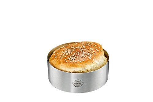 Gefu Burger-Ring BBQ 89361, Silber