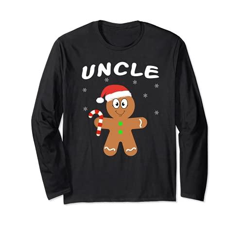 Familia a juego trajes de Navidad de jengibre tío pijama Manga Larga