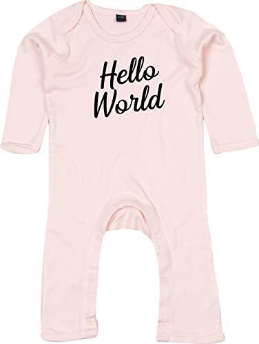 Kleckerliese Combinaison pour bébé Motif Hello World - - 12-18 mois