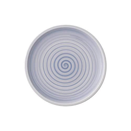 Villeroy & Boch Artesano Nature Bleu Frühstücksteller, 22 cm, Premium Porzellan, Blau