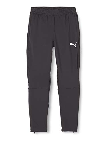 Puma Kinder Liga Training Pants Pro Jr Jogginghose, Black White, 176