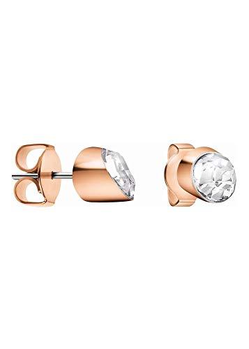 Calvin Klein Ohrstecker mit Swarovski Kristallen, Edelstahl, poliert