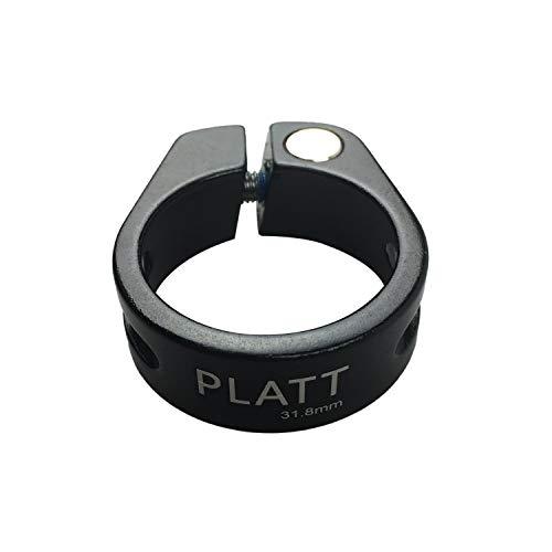PLATT シートクランプ 軽量カーボンファイバー/アルミ合金自転車シートポストクランプ サイズ 28.6/31.8/34...