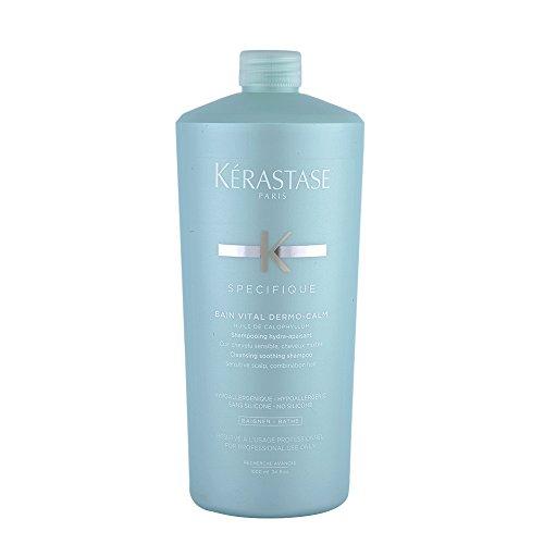 Kerastase, Bain Vital Dermo-Calm, Shampoo lenitivo, 1000 ml