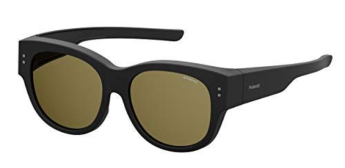 Polaroid PLD 9009/s Sunglasses, 003/SP Matt Black, 56 Unisex-Adult