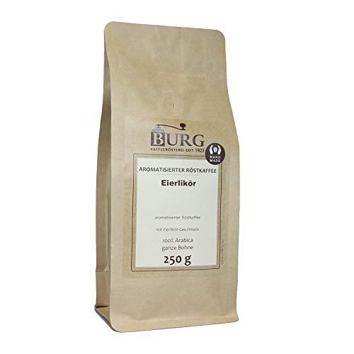 BURG Eierlikör Kaffee aromatisiert Gewicht 1000 g, Mahlgrad mittel gemahlen