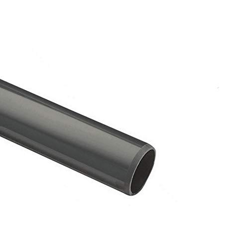 EXCOLO 2m STK PVC Rohr Ø 50 mm. B-Ware. Nur Rohr ohne Winkel Kniestück Muffen T-Stück Kappen Fittings (1 x Rohr 2 Meter lang)