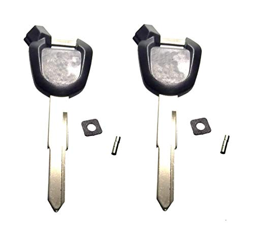 ihave Replacement For 2x Magnetic Uncut Blank Ignition key PCX 125 150 SH mode SH125i SH150i ANC125 Vision Lead