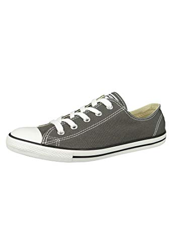 Converse Damen All Star Dainty Ox Sneaker, Braun (Charcoal 010), 38.5 EU
