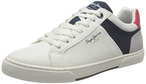 Pepe Jeans Herren Rodney Sport Sneaker, 800WHITE, 44 EU