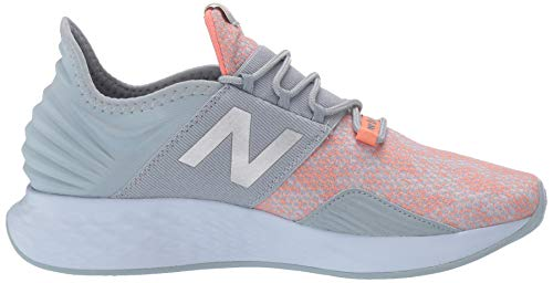 New Balance Women's Fresh Foam Roav V1 Sneaker, LIGHT SLATE/NATURAL PEACH, 8.5 M US 3