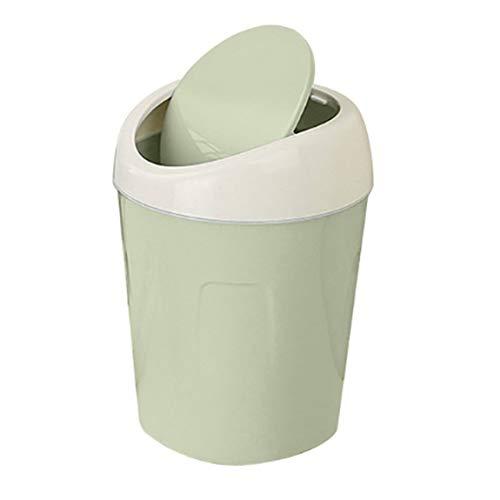 SeniorMar Wohnzimmer Small Organizer Kunststoff-Desktops Mini-Küche Wohnzimmer Mülleimer