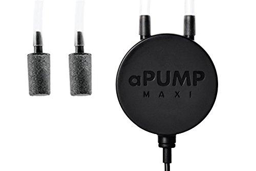 Aqualighter aPump Maxi Areatore super silenzioso a doppia uscita per acquari fino a 200 l