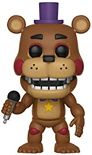 Funko Pop Games: Five Nights at Freddy's Pizza Simulator - Rockstar Freddy Collectible Figure, Multicolor
