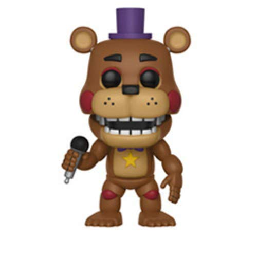 Pop! Five Nights At FreddyS - Figura de Vinilo Rockstar Freddy