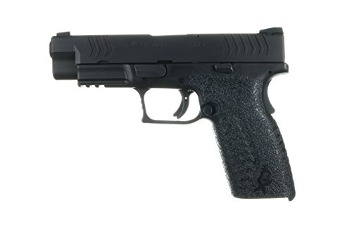 TALON Grips XD(M) Full Size 9mm/.40 (3.8', 4.5', 5.25' Barrel) Grip, Medium, Left/Right, Black Rubber