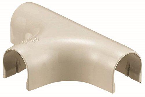 未来工業 VE管カバーチーズ 適合管VE16 ミルキーホワイト 10個価格 VEJ-16M