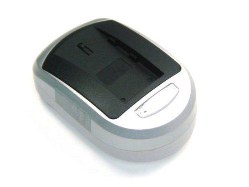 Batería Cargador (ncluido el Adaptador para el Coche 12V) para cámara/videocámara Digital Compatible con MINOLTA NP 900 / NP900