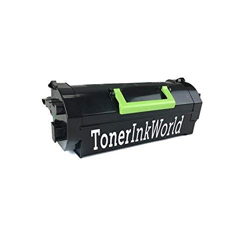 TIW MS810 Replacement Black Toner Cartridge for Lexmark MS810, MS710 MS710n, MS711 MS711dn, MS810de, MS811, MS811dn, MS811n, Ms812 Printers High Yield 25,000 Page Printing Cartridge 52D1H00 & 521H