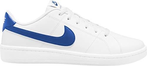 Nike Court 2, Scarpe da Ginnastica Uomo, White/Game Royal, 43 EU