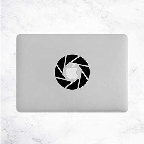 myrockshirt Pegatina divertida para la cámara de fotos o MacBook para portátil, resistente a los rayos UV y al túnel de lavado, calidad profesional