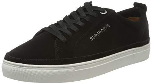 Superdry Truman Premium Lace Up, Zapatillas Hombre, Negro (Black...