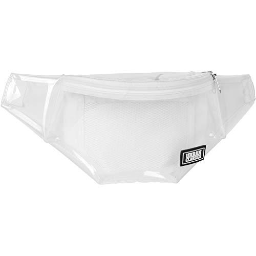 Urban Classics Transparent Shoulder Bag Rucksack, 39 cm, 1,9 L, Transparent White