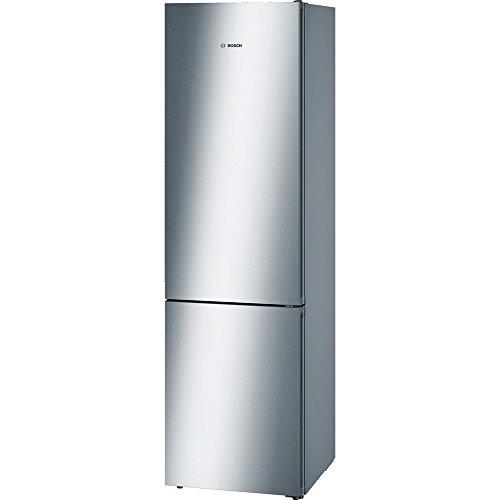 BOSCH Koelkast, Zilver, 203 x 60 x 60 cm