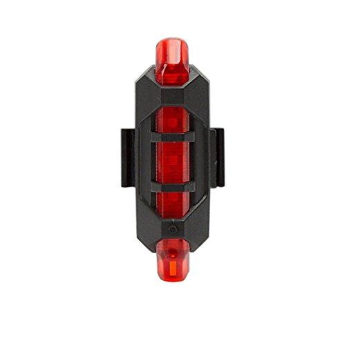 STRIR Luces LED para Correr y Salida Nocturna,4 Modos, luz Trasera para Bicicleta, luz de Advertencia, Alta Visibilidad [Clase de eficiencia energética A+]
